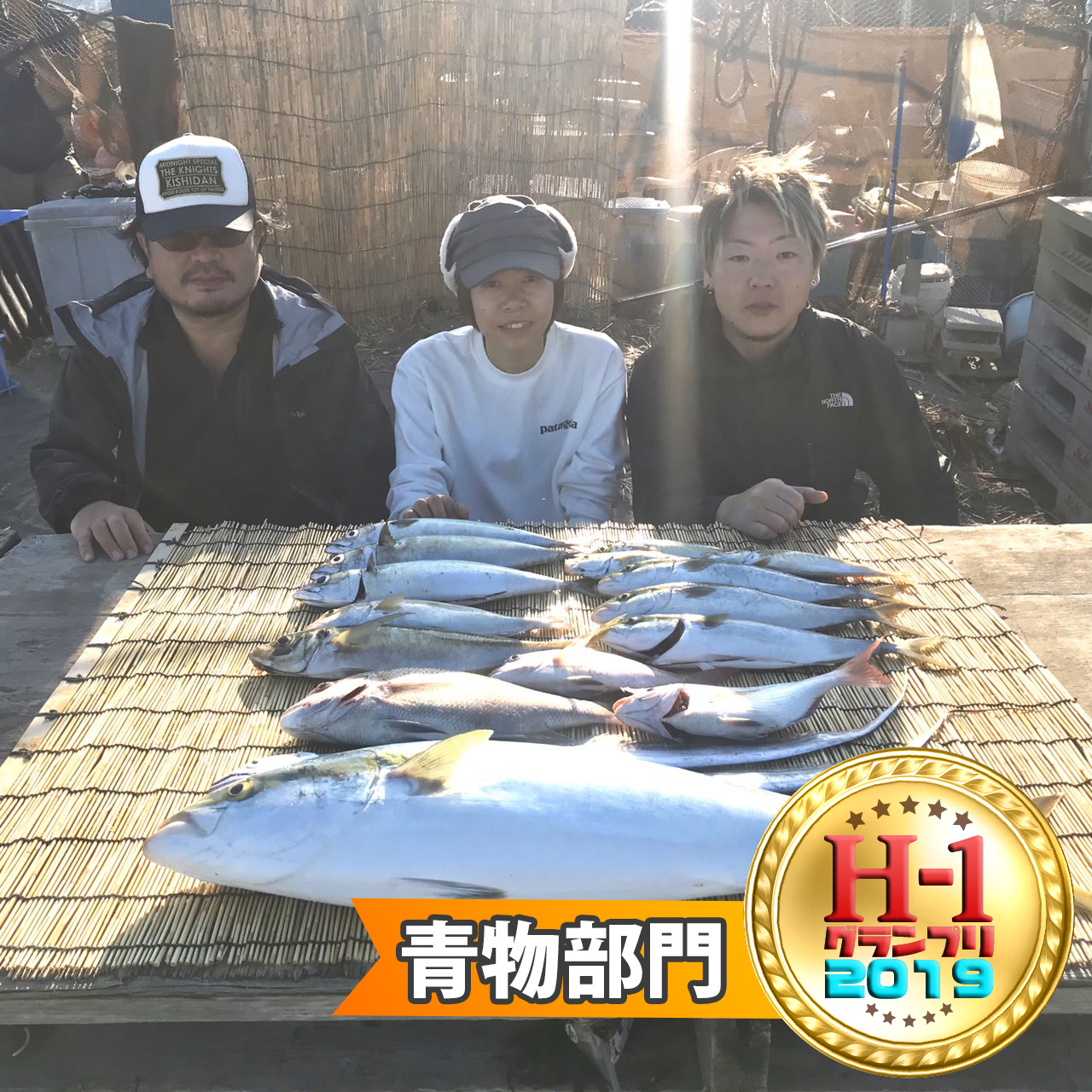 H1グランプリ青物部門賞